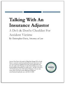 REPORT: Talking With An Insurance Adjustor: Do's & Don'ts Checklist
